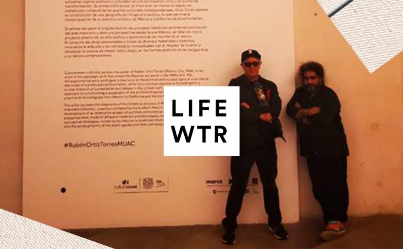 LIFEWTR® apoyando el arte de Rubén Ortiz Torres en el MUAC