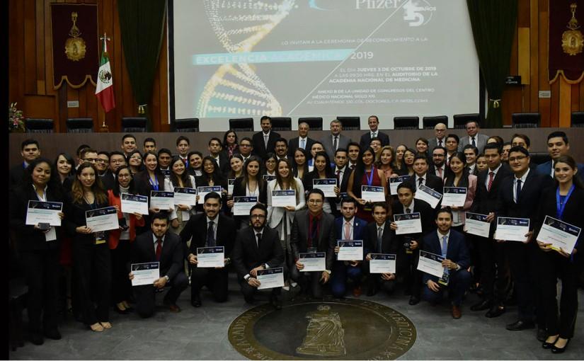 El Instituto Científico Pfizer distingue la excelencia académica enMedicina