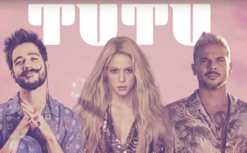 """Shakira se unió a Camilo & Pedro Capó para la nueva versión del éxito Global""""TUTU"""""""