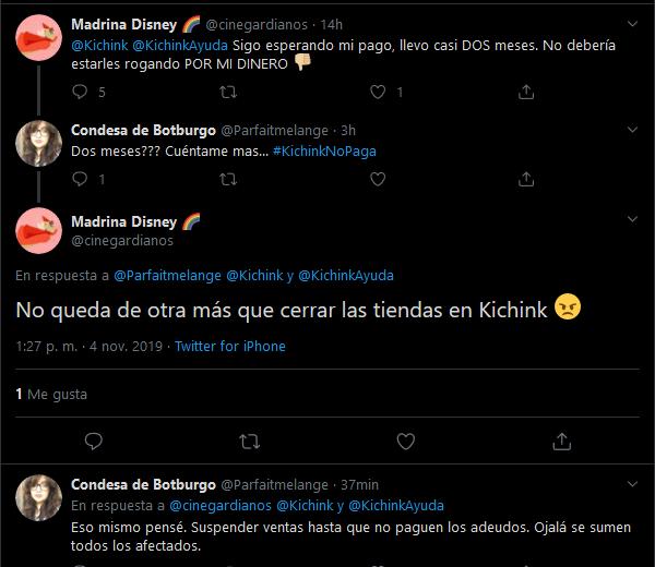 Screenshot_2019-11-04 Madrina Disney 🌈 en Twitter Parfaitmelange Kichink KichinkAyuda No queda de otra más que cerrar las [...]