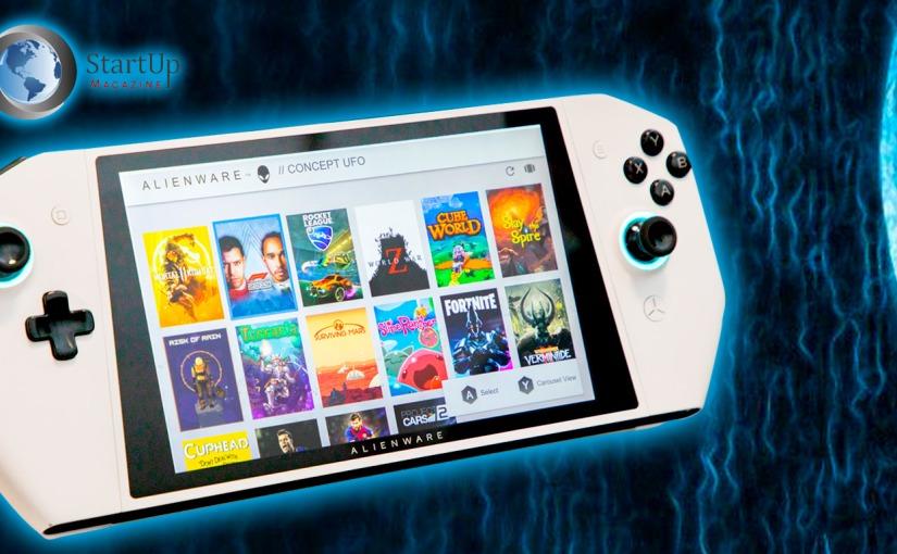 #CES2020: Alienware presenta consola de videojuegos idéntica al NintendoSwitch