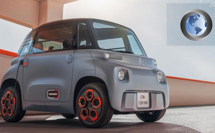 Ami: el nuevo auto eléctrico deCitroën.