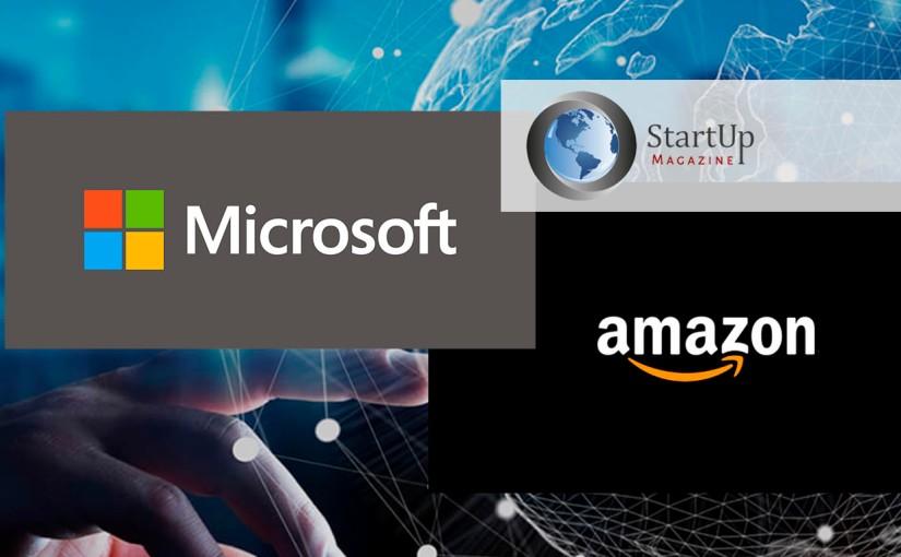 Amazon y Microsoft liberaron sus patentes para actuar contra la COVID-19 ¡Tu empresa también puedeparticipar!