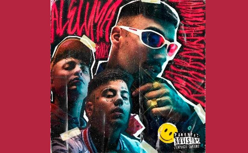 Rels B se unió a Duki y Alemán en un remix de´Aleluya´