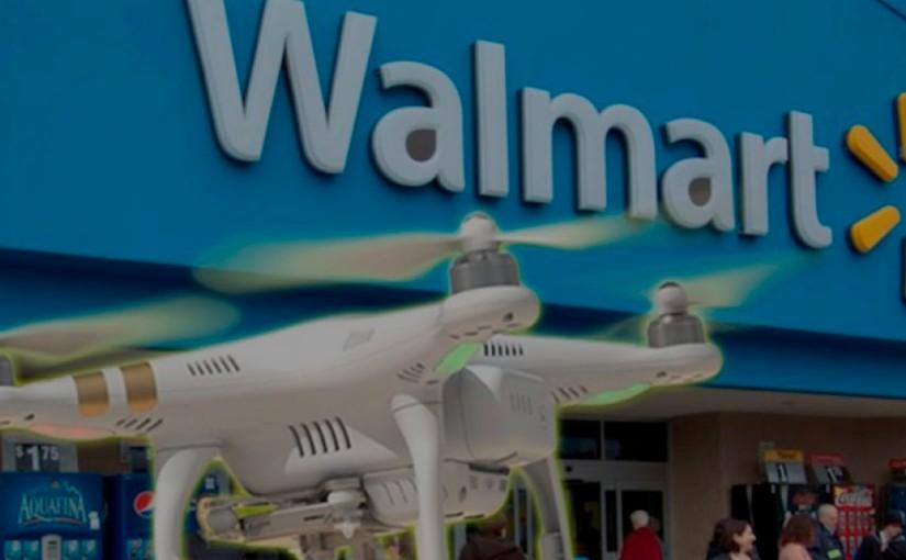 Walmart y su estrategia para que un dron te entregue tuscompras