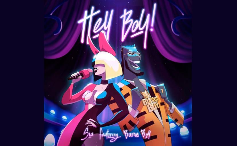 """Sia estrenó un nuevo sencillo titulado """"Hey Boy"""" FT. Burnaboy"""